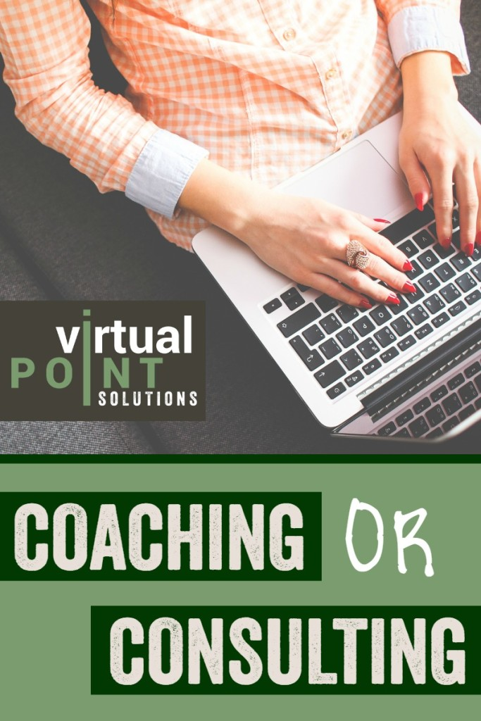 Coaching or Consulting