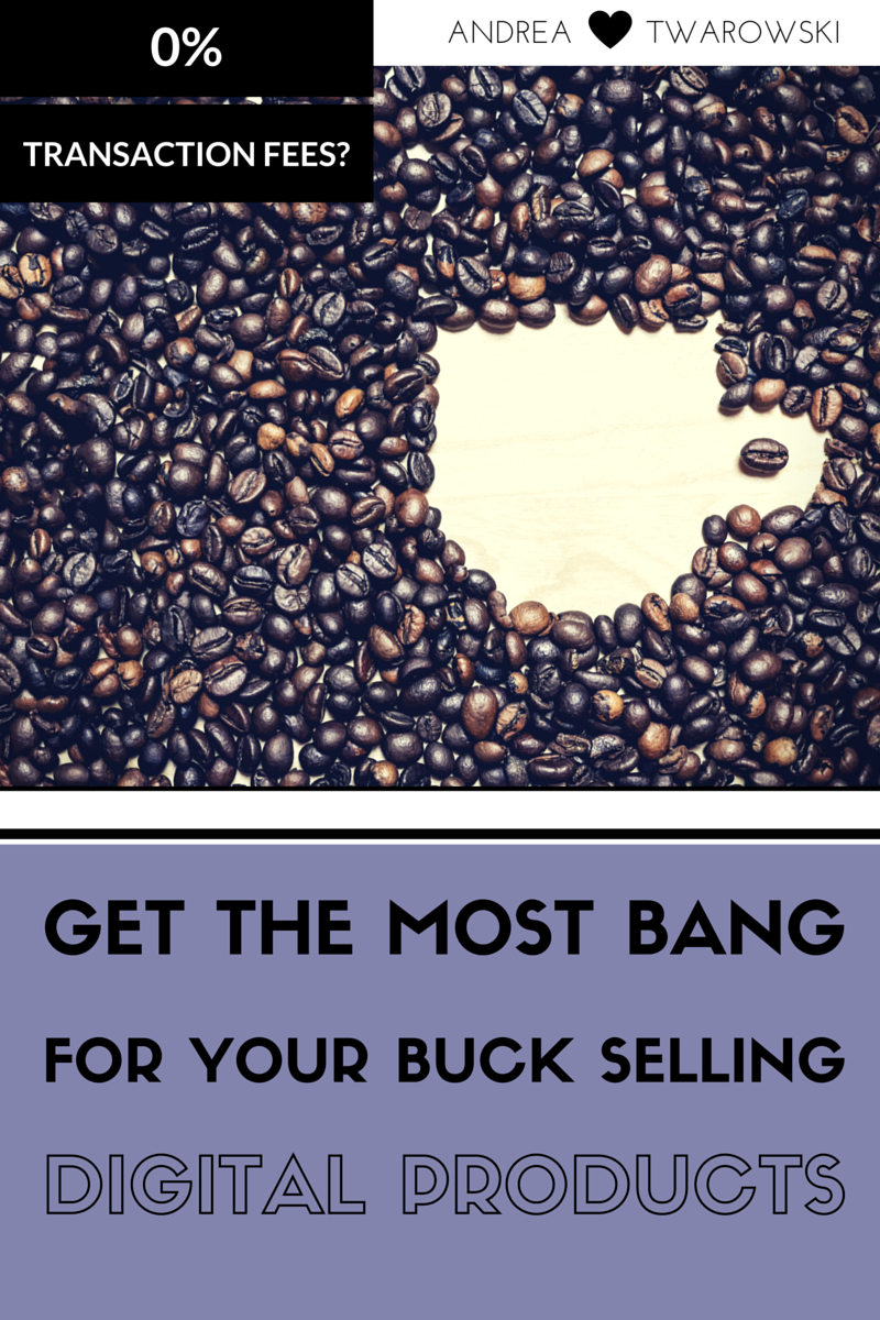 Get the most bang for your buck selling digital products